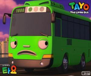 ROGI is a funny and mischievous green bus puzzle