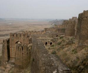 Rohtas Fort, Pakistan puzzle