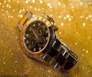 Rolex watch puzzle