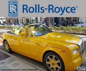 Rolls-Royce yellow puzzle