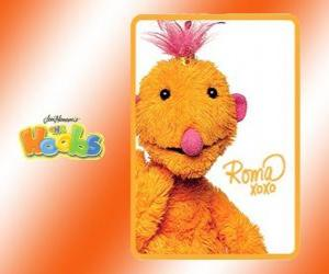 Roma is the Hoob who travels all around the world puzzle
