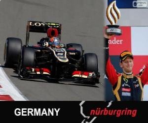Romain Grosjean - Lotus - 2013 German Grand Prix, 3rd classified puzzle