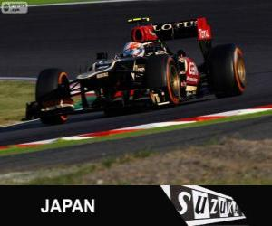 Romain Grosjean - Lotus - 2013 Japanese Grand Prix, 3rd classified puzzle