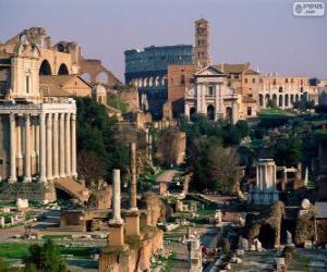 Roman Forum, Rome, Italy puzzle