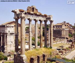 Roman Forum, Rome puzzle