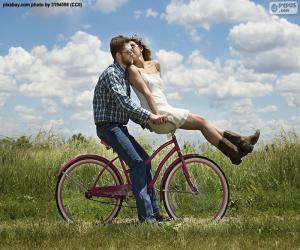 Romantic bike ride puzzle