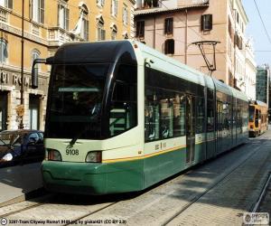 Rome tram puzzle