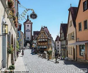 Rothenburg, Germany puzzle