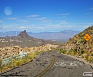 Route 66, Arizona puzzle