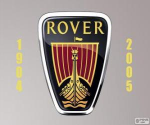 Rover logo was a United Kingdom automobile manufacturer puzzle