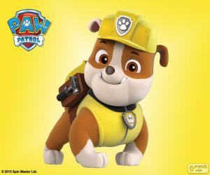 Rubble, Paw Patrol puzzle