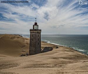 Rubjerg Knude Lighthouse, Denmark puzzle