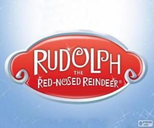 Rudolph the Red-Nosed Reindeer logo puzzle