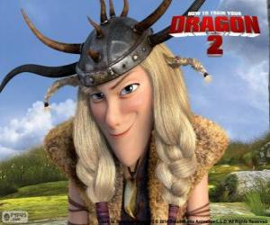 Ruffnut Thorston, How to Train Your Dragon 2 puzzle