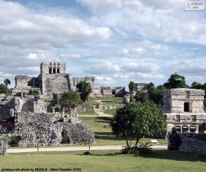 Ruins of Tulum, Mexico puzzle