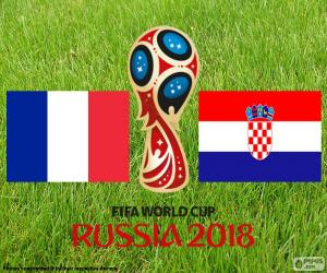 Russia 2018 FIFA World Cup final puzzle