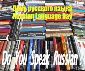 Russian Language Day puzzle