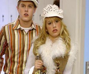 Ryan Evans (Lucas Grabeel), Sharpay Evans (Ashley Tisdale) acting puzzle