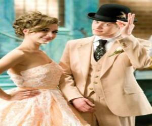 Ryan Evans (Lucas Grabeel) along Kelsi Nielsen (Olesya Rulin) in the musical puzzle
