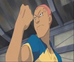 Ryugo Someoka or Kevin Dragonfly, the grumpy striker of Raimon football team puzzle