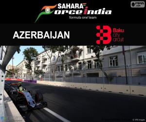 S. Perez, 2016 European Grand Prix puzzle