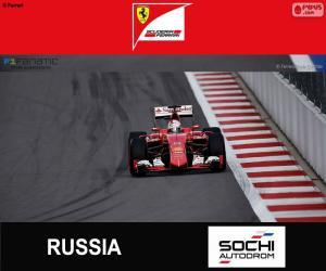 S. Vettel, 2015 Russian Grand Prix puzzle