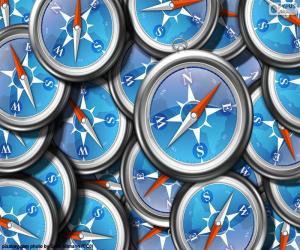 Safari logo puzzle