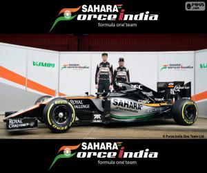 Sahara Force India F1 2016 puzzle