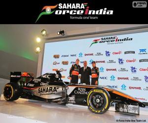 Sahara Force India F1 team 2015 puzzle