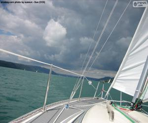 Sail on a sailboat puzzle