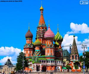 Saint Basil's Cathedral, Moscow, Russia puzzle
