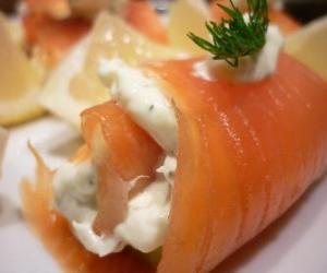 Salmon rolls puzzle