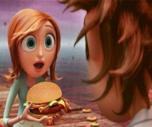 Sam Flint surprised teaches a hamburger puzzle
