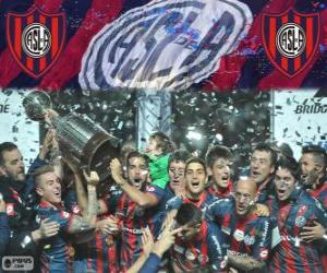 San Lorenzo de Almagro, Champion of Copa Libertadores 2014 puzzle