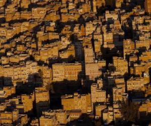 Sanaa, Yemen puzzle