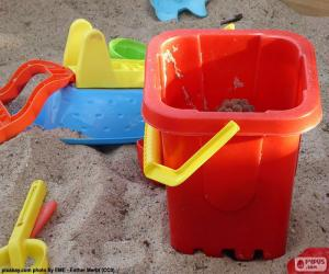 Sand toys puzzle