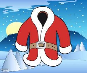 Santa Claus coat puzzle