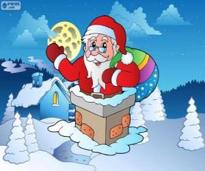 Santa Claus in the chimney puzzle