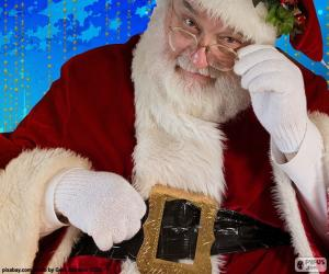 Santa Claus observed puzzle