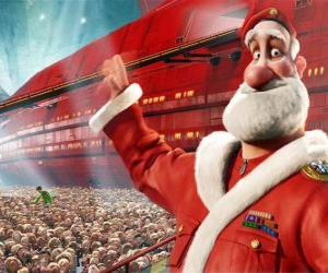 Santa Claus, the father of Arthur Christmas puzzle
