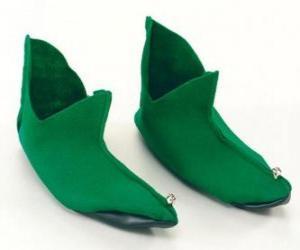 Santa's elf boots puzzle