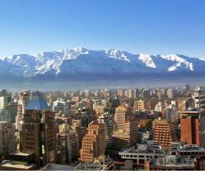 Santiago de Chile, Chile puzzle