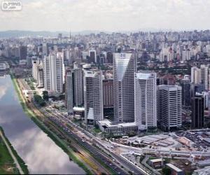 Sao Paulo, Brazil puzzle