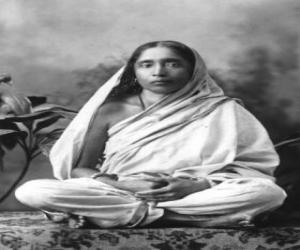 Sarada Devi, wife and spiritual partner of Ramakrishna Paramahamsa puzzle