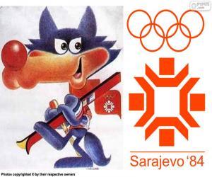 Sarajevo 1984 Winter Olympics puzzle
