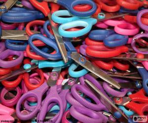 School scissors puzzle