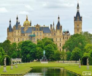 Schwerin Palace, Germany puzzle