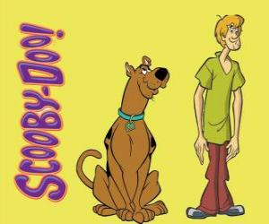 Scooby-Doo and Shaggy, two friends puzzle
