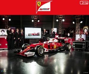 Scuderia Ferrari 2016 puzzle