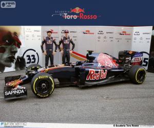 Scuderia Toro Rosso 2016 puzzle